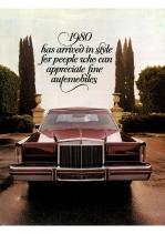 1980 Lincoln Full Line