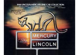 1980-Lincoln-Mercury Full Line