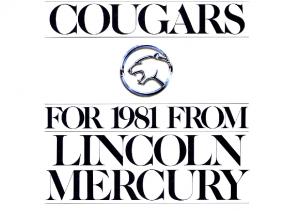 1981 Mercury Cougar