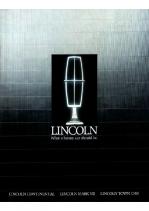 1988 Lincoln Full Line