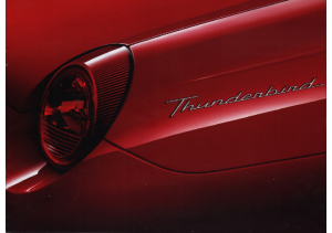 2001 Ford Thunderbird