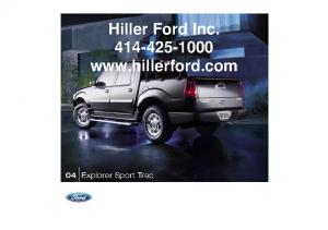 2004 Ford Sport Trac
