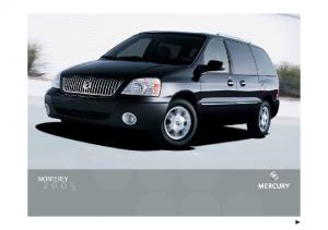2005 Mercury Montery
