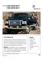 2007 Ford Super Duty