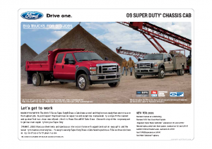 2009 Ford Super Duty Chassis Cab