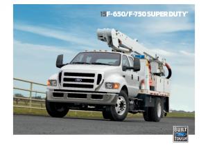 2015 Ford F650-F750