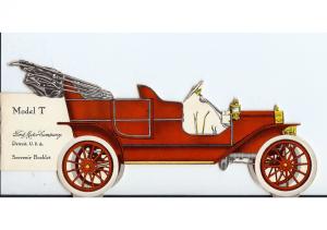 1909 Ford Model T Souvenir Booklet