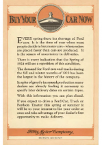 1924 Ford Purchase Plan
