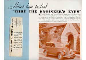 1933 Ford Engineering