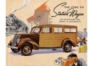1937 Ford Wagons