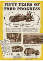 1946 Ford 50 Years Of Progress