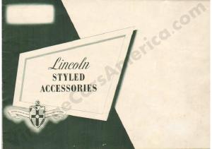 1949 Lincoln Accessories