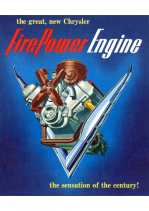 1951 Chrysler Firepower V8 Engine