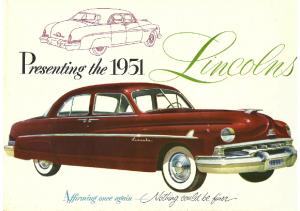 1951 Lincoln Full Line
