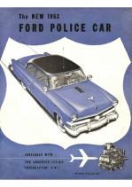 1953 Ford Police Car