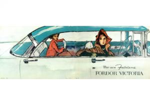 1956 Ford Fordor Victoria
