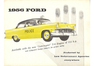 1956 Ford Police