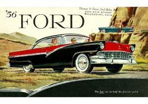 1956 Ford Full Line