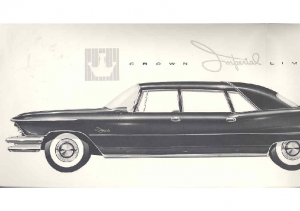1957 Chrysler Imperial Limo