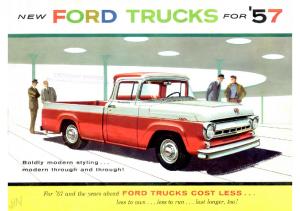 1957 Ford Trucks
