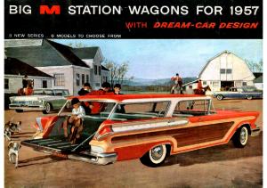 1957 Mercury Wagons