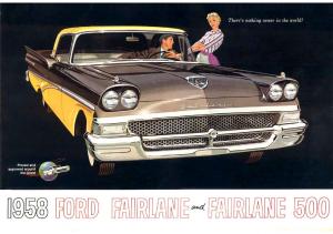 1958 Ford Full Line