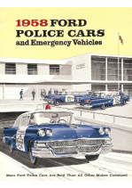 1958 Ford Police Cars