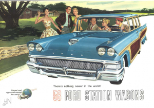 1958 Ford Station Wagons