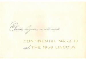 1958 Lincoln Prestige