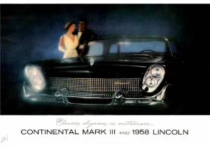 1958 Lincoln Full Line