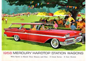 1958 Mercury Wagons