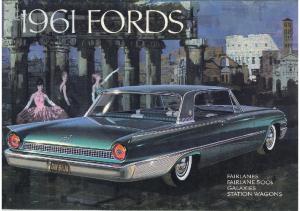 1961 Ford Full Line