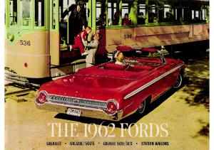1962 Ford Galaxie Station Wagon