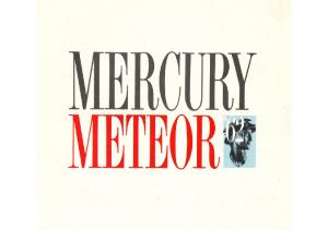 1962 Mercury Meteor