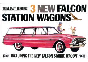 1963 Ford Falcon Wagons