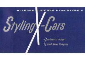1964 Ford Future Cars