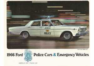 1966 Ford Police