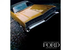 1968 Ford Full Line