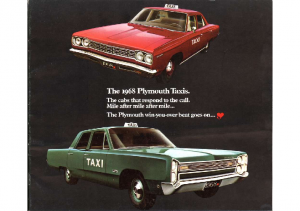 1968 Plymouth Taxi