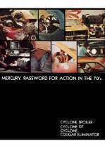 1970 Mercury Cyclone-Cougar