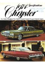 1974 Chrysler Specs