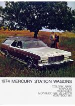 1974 Mercury Station Wagons