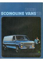 1975 Ford Econoline Vans
