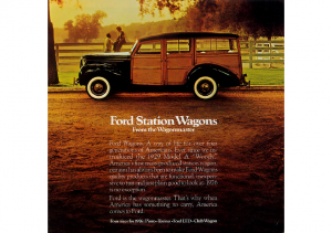 1976 Ford Wagons