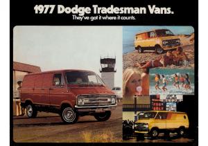1977 Dodge Tradesman Vans