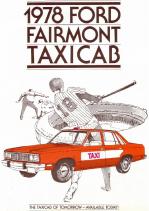 1978 Ford Fairmont Taxicab