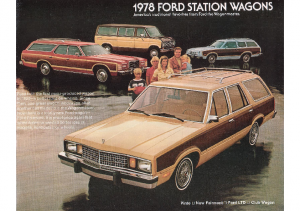 1978 Ford Wagons