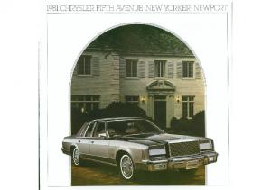 1981 Chrysler Full Size