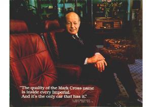 1981 Chrysler Imperial Mark Cross