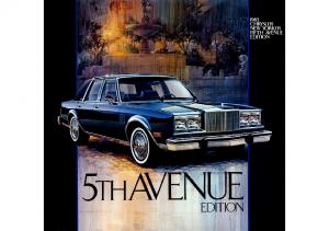 1983 Chrysler New Yorker-Fifth Avenue